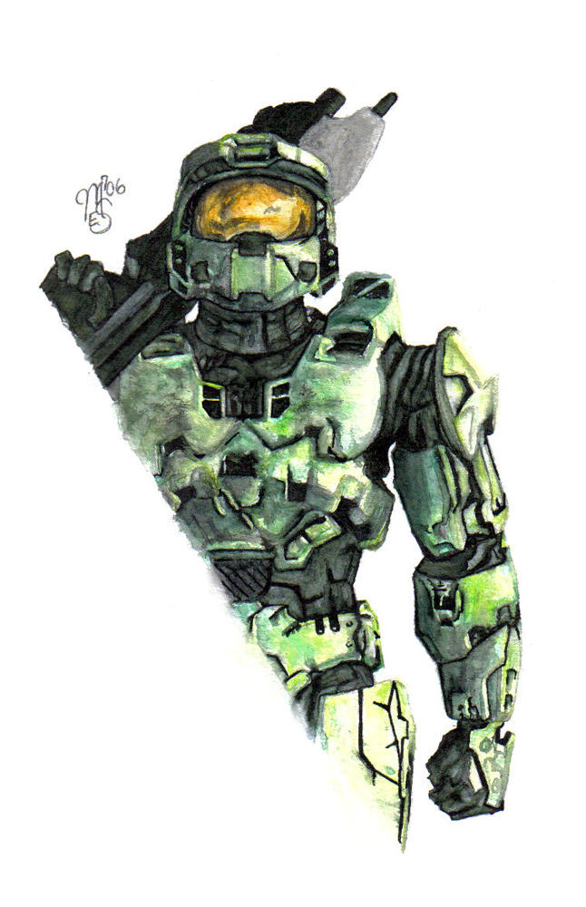 Halo 3 Master Chief By Kamino185 On Deviantart