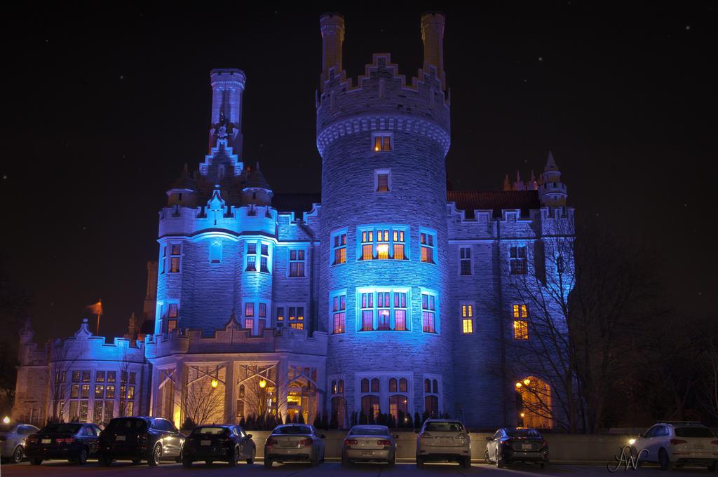 Blue Casa Loma by waudrey
