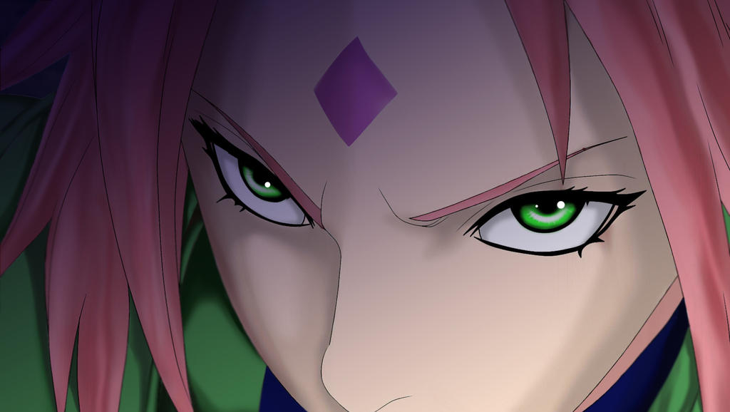 Sakura Haruno by krazzyfart