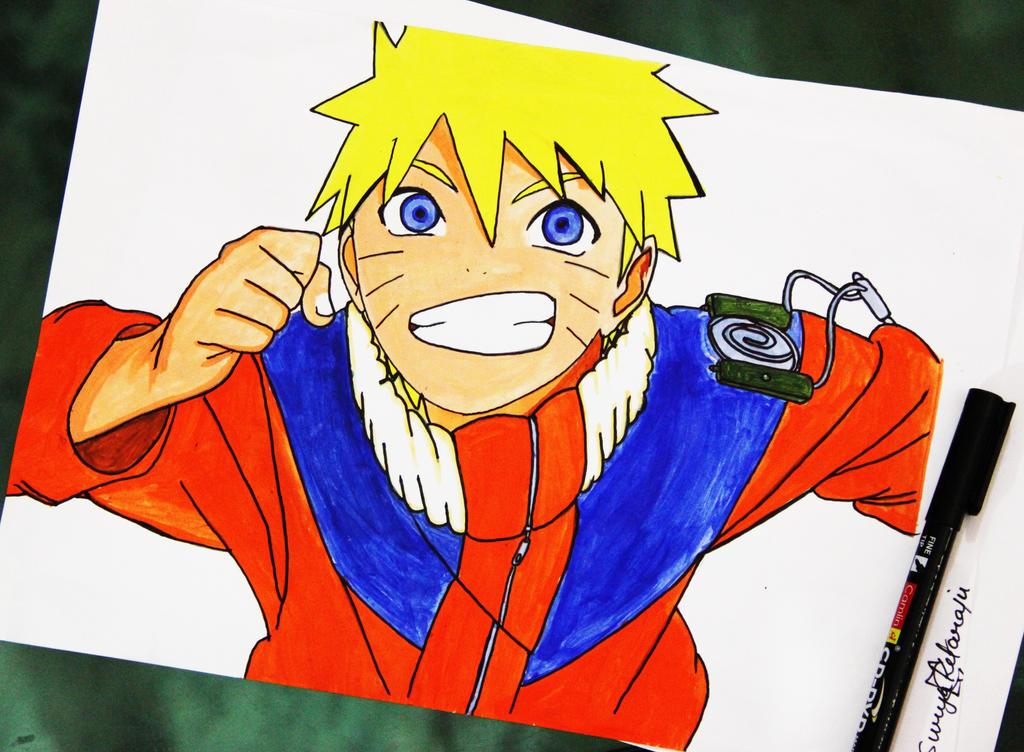 Naruto Uzumaki by Krazzy4art