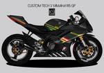Custom Yamaha R15 tech3 designed by K9 Artworks