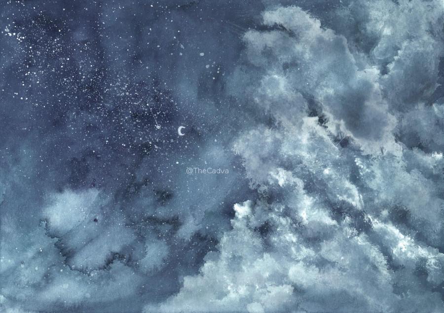 The Clouds II by cadva
