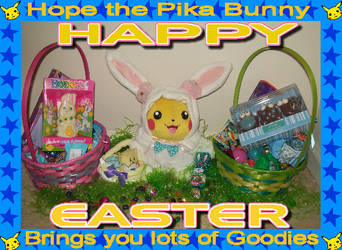 Happy Easter Deviants by pikabellechu