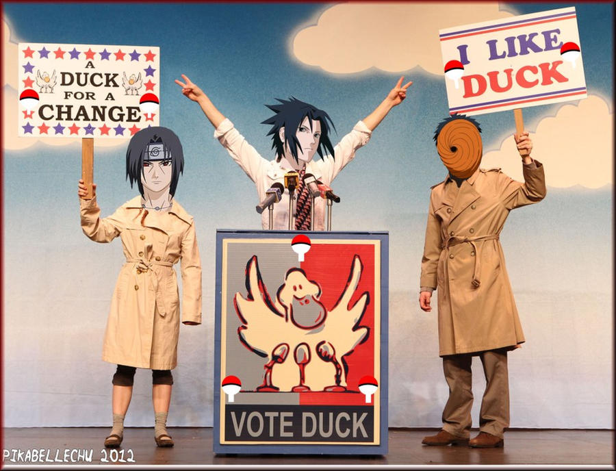Sasuke for President by pikabellechu