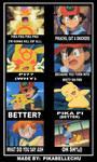 Snickers Satisfies Pikachu