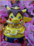 Princess Belle Pikachu Amiibo Custom