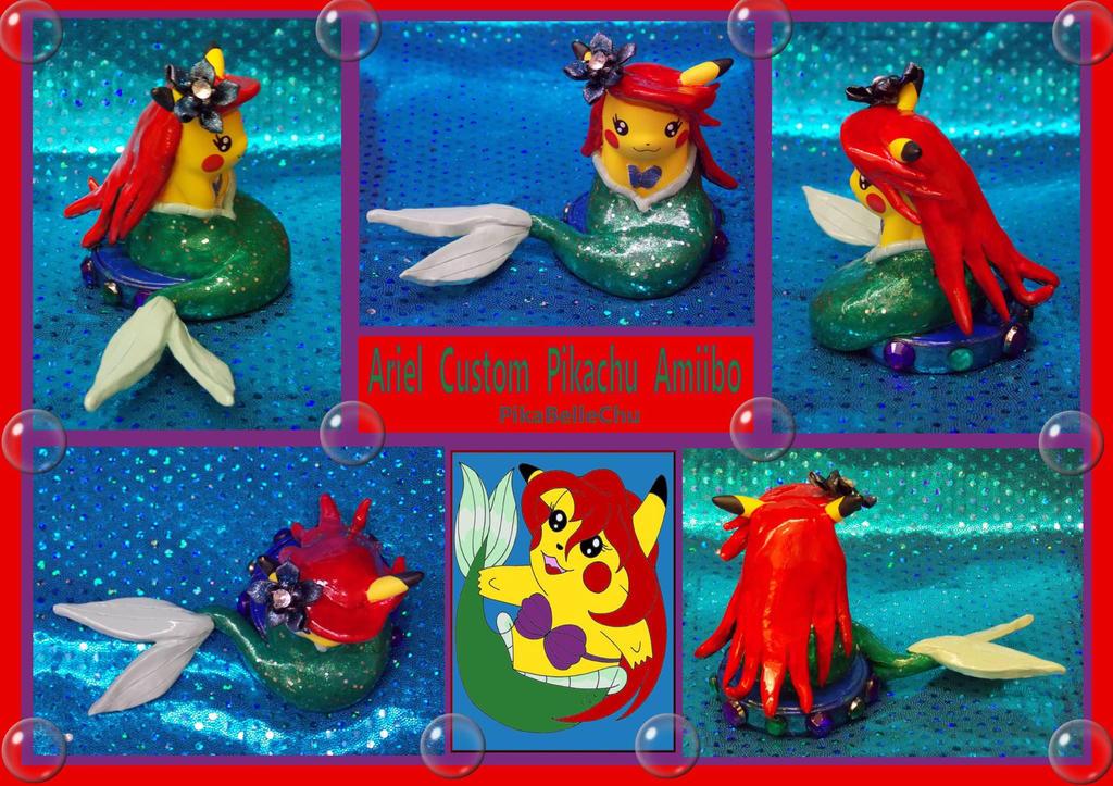 Custom Ariel Pikachu Amiino by pikabellechu
