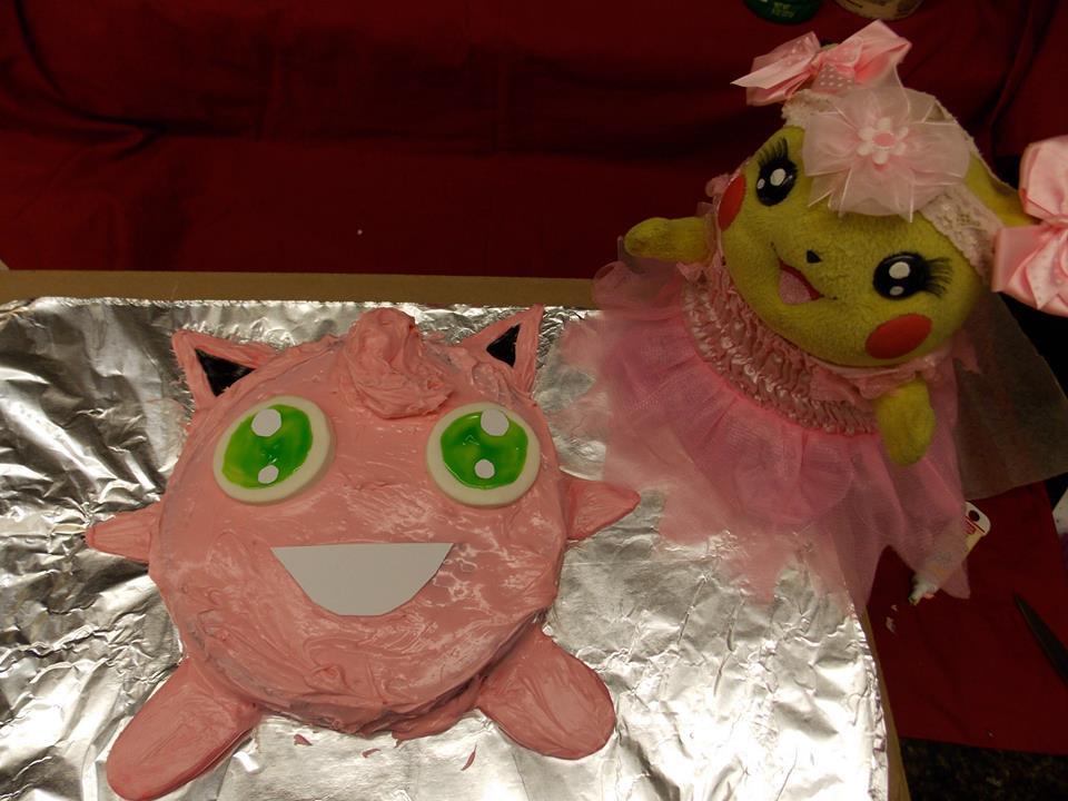 Jigglypuff Cake by pikabellechu