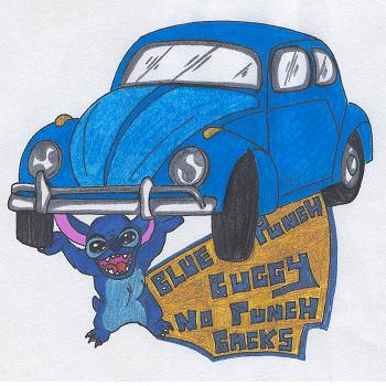 Punch Buggy Stitch by pikabellechu on DeviantArt