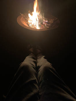 Feet by the fire
