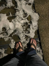 Snow toes