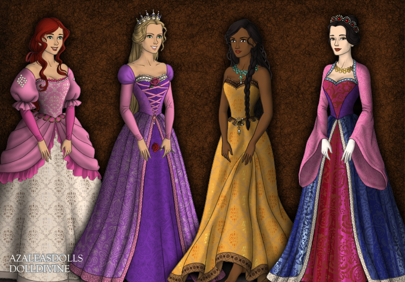 Disney Tudor Princesses 2 by jesusismybestie