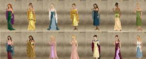 All Disney Princesses Roman
