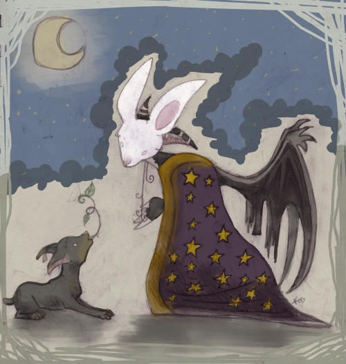 Lapin by CrappyZombie