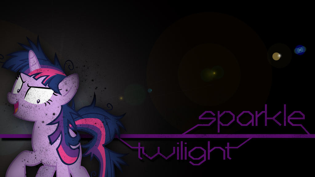 Twilight Sparkle Wallpaper by Amoagtasaloquendo