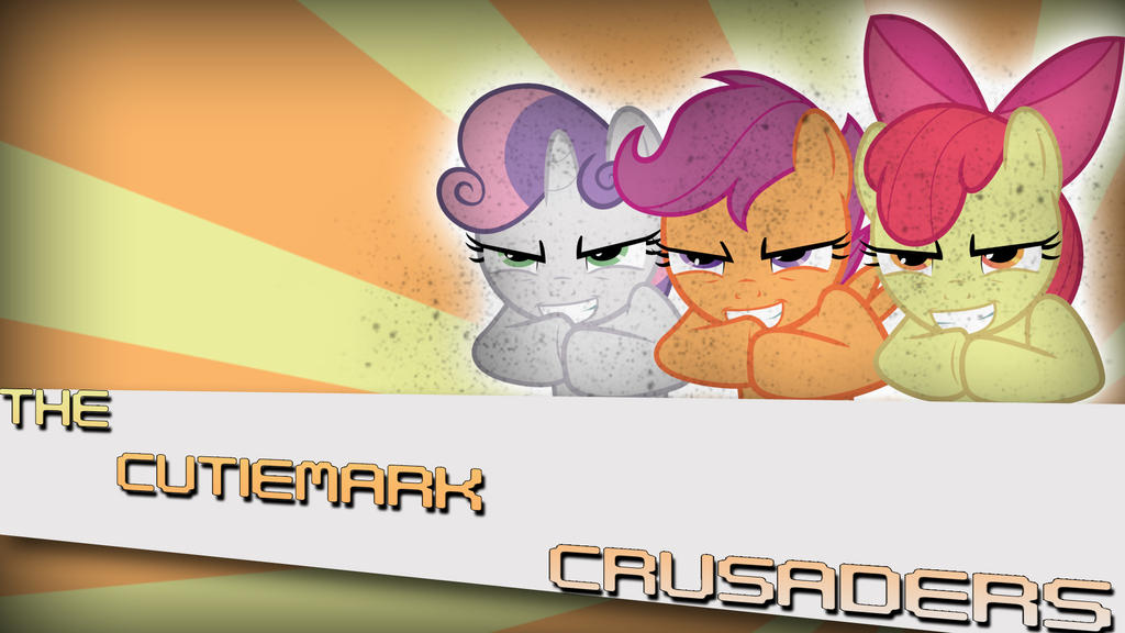 The CutieMark Crusaders by Amoagtasaloquendo