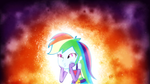 The Awesome Rainbow Dash human