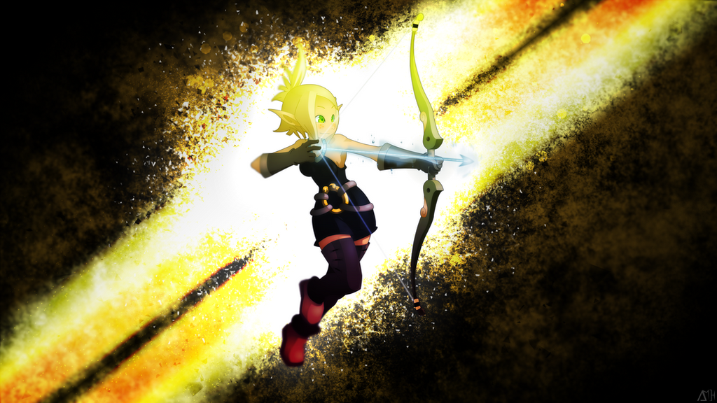 Evangelyne Wallpaper by Amoagtasaloquendo