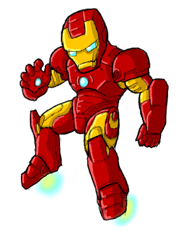 Pchat - Chibi Iron Man by GuyverC on DeviantArt