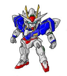 Pchat - Chibi 00 Gundam by GuyverC