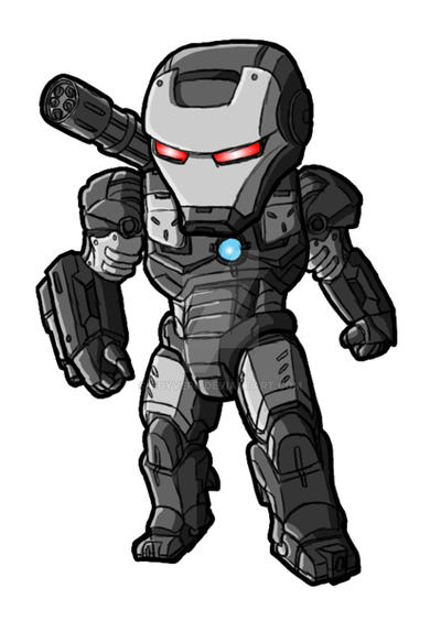 Chibi Movie War Machine By GuyverC On DeviantArt