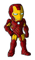 Chibi Movie Iron Man Mk 4 by GuyverC