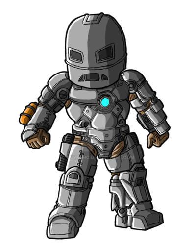 Chibi Movie Iron Man Mk 1 By GuyverC On DeviantArt
