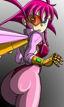 4chan Girl - Cyborg Renais