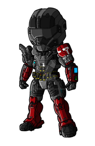 Chibi Reach - Custom Six 9 by GuyverC