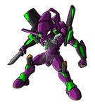 Chibi Eva - Unit 01