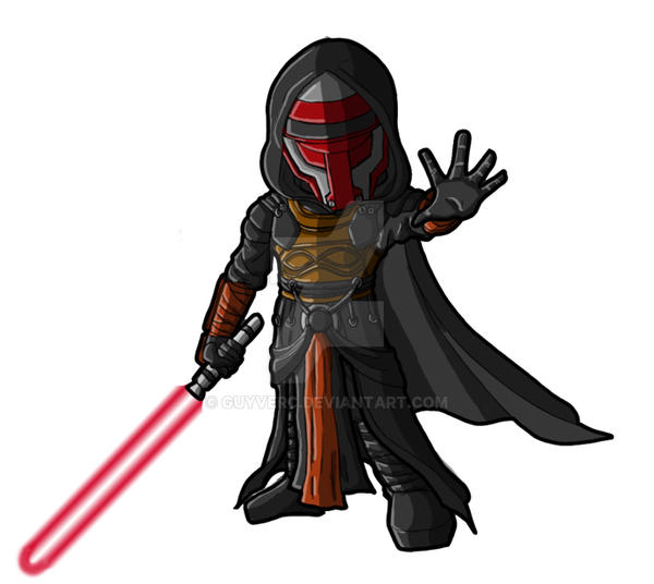 Chibi Darth Revan by GuyverC