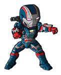 Chibi IM3 Iron Patriot