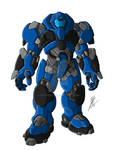 Warriorguyver.com - ACTF Blue Armor Mk 1