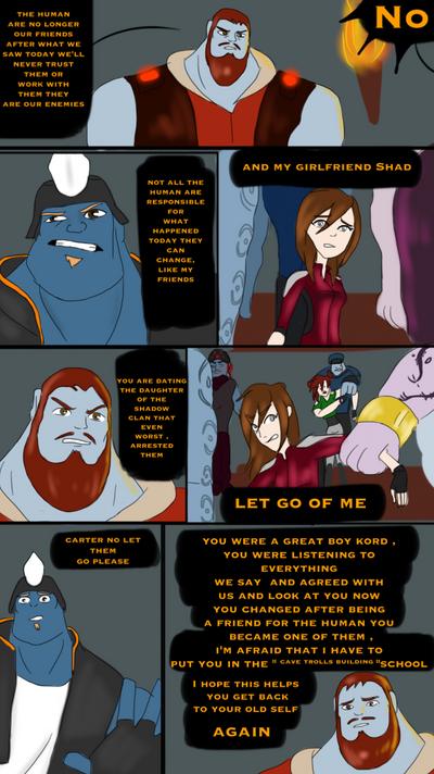 Cave trolls meeting  by shad116seem