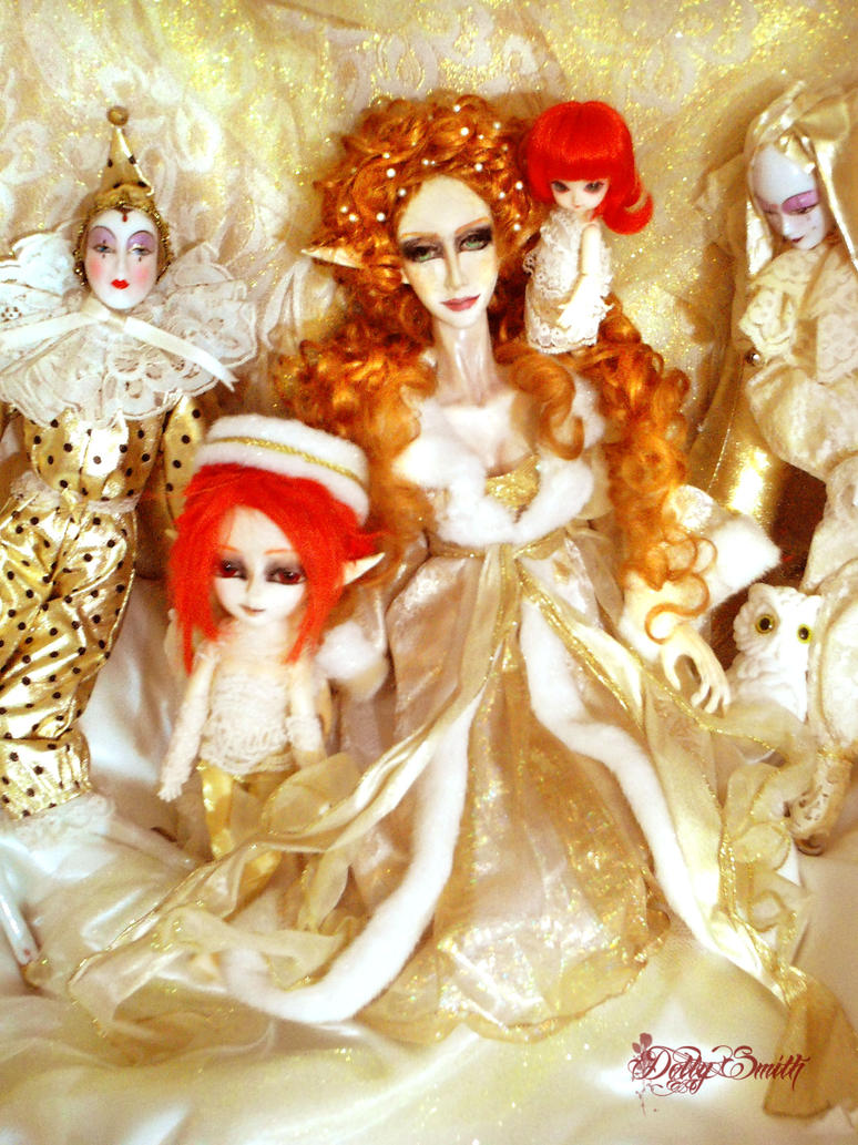 golden faery court by Dollysmith
