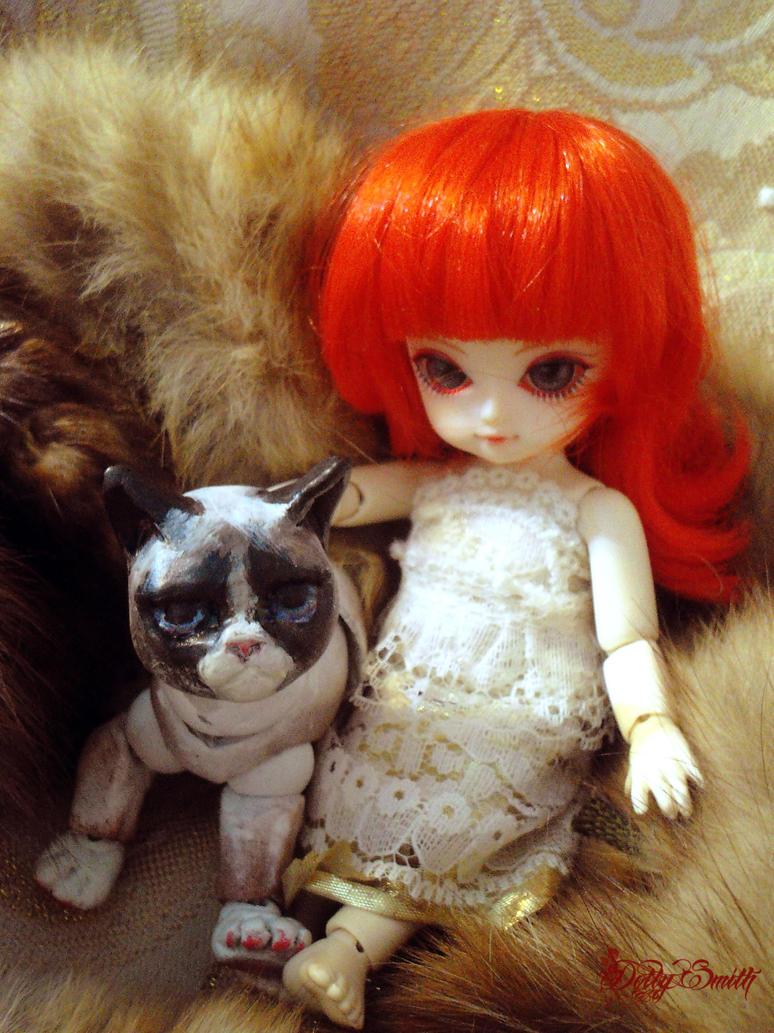 sweety and grumpy by Dollysmith