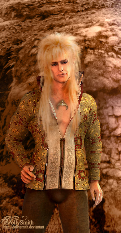 Jareth in 3D by Dollysmith