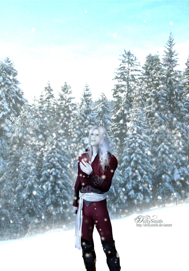 Here comes the snow again by Dollysmith
