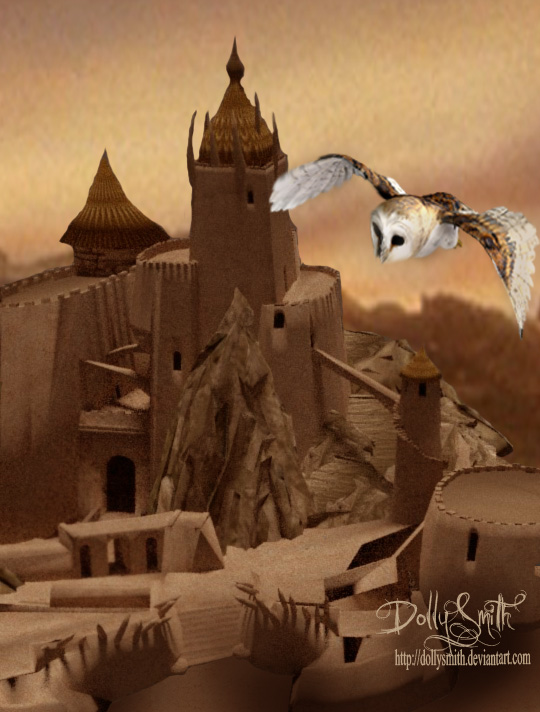 castle beyond the goblin city by Dollysmith