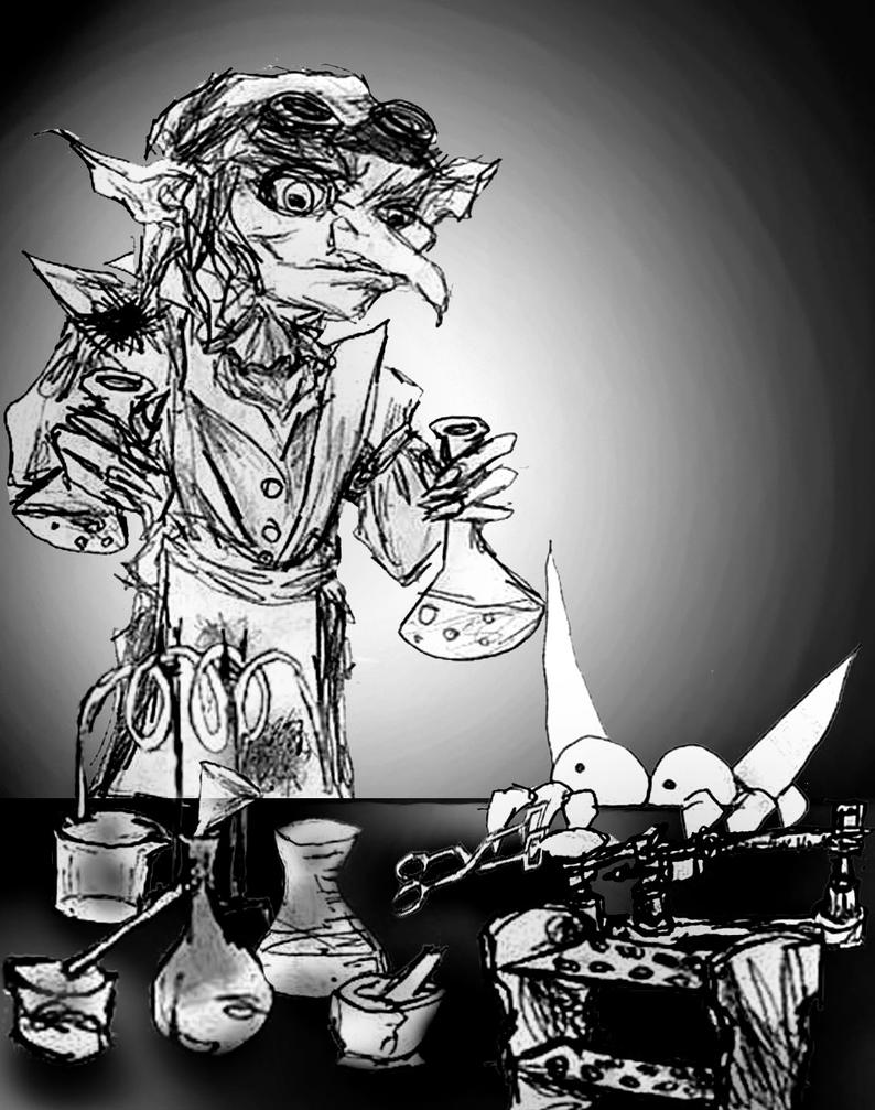 more mad goblin science by Dollysmith