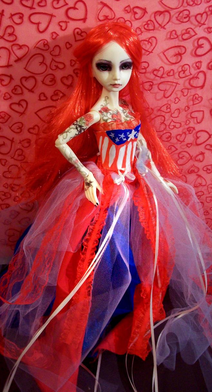 my patriotic girl 2 by Dollysmith