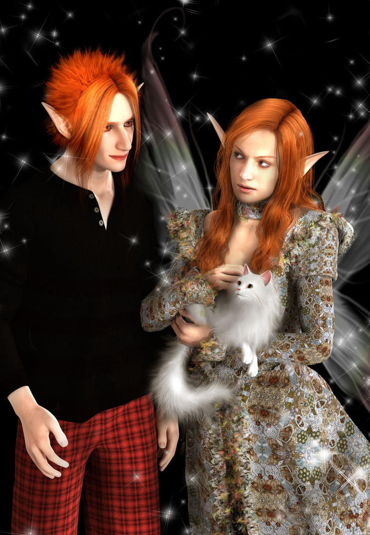 faerie queens companions by Dollysmith