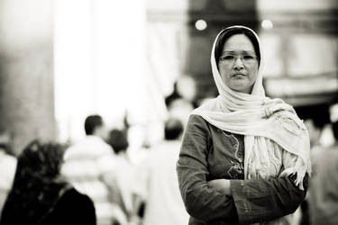 Lady In Mosque by noc-Photography