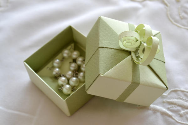 Origami Gift Box Jewelry Box By Reversecascade On Deviantart