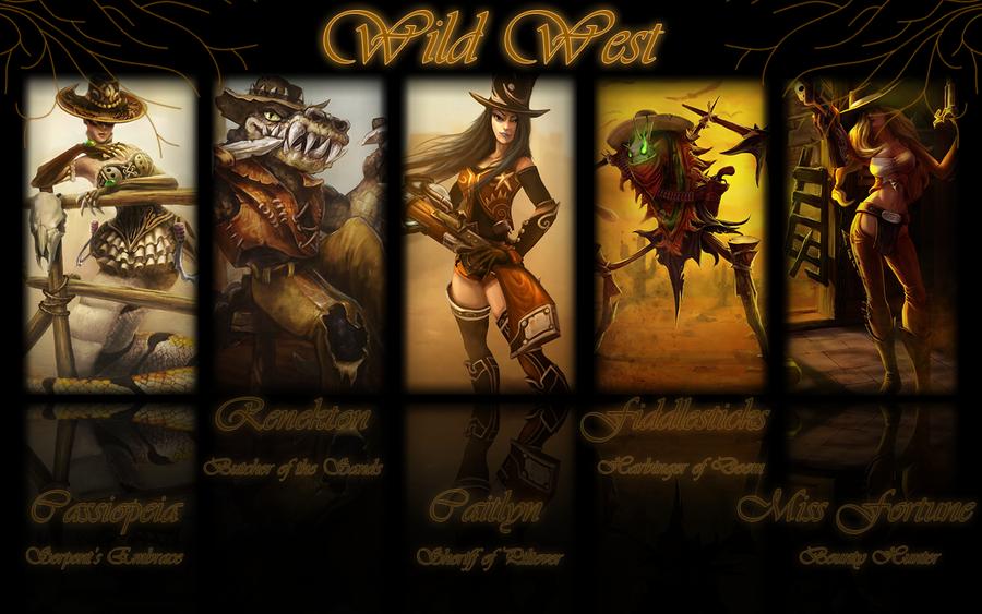 League of Legends: Wild West by K4tEe