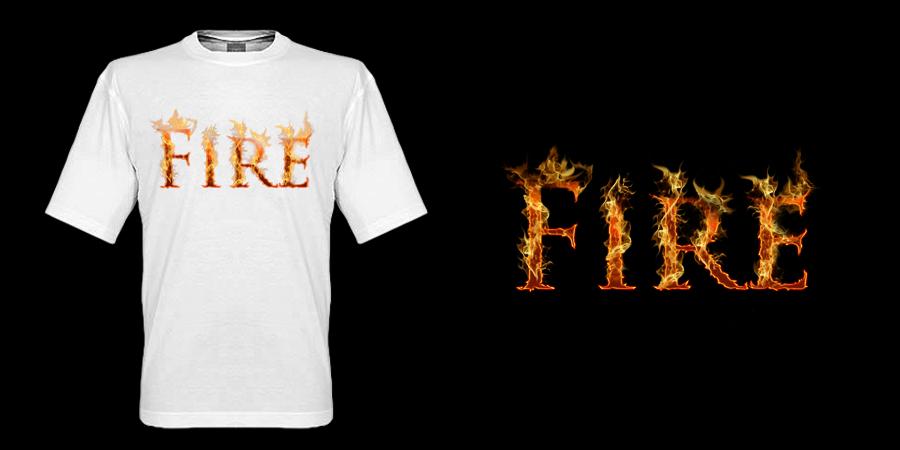 fire t shirt design by k4tee on deviantart