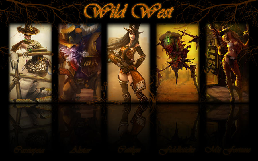 Wild West v2 by K4tEe