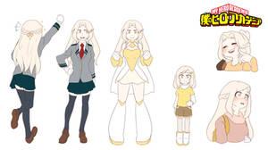 BNHA OC - Hikari Yamamoto