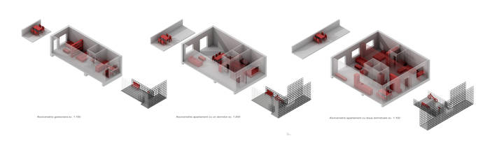 Apartment modules by AzFaka