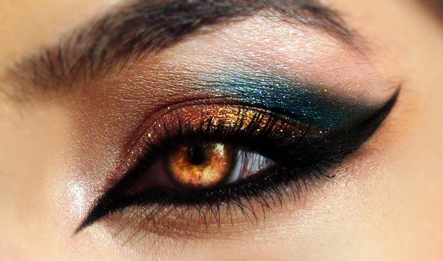 Grand Arabia Eye Makeup by Desert-Winds